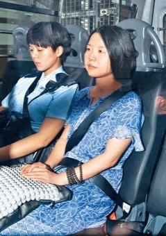 唐琳玲未依期繳付五萬元保釋金遭通緝拘捕,還柙至今日再訊。