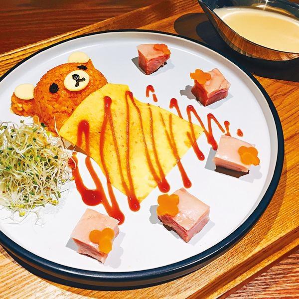 可愛Fusion熊仔飯