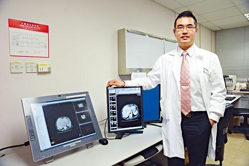 臨腫瘤科專科醫生梁廣泉。