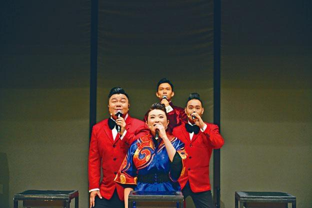 無伴奏《維多利雅講》在「大館」開幕期間開演。