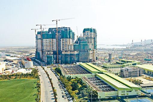 「上葡京」項目預料今年底竣工。