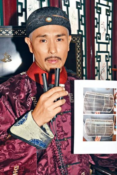 陳展鵬展示租住單位照片,證明自己沒有損毁單位。