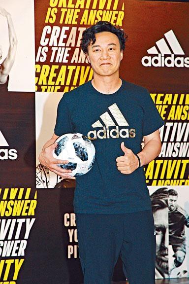 陳奕迅首次到俄羅斯,亦是首次現場看世界盃賽事。