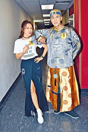 李施嬅與譚俊彥都對新劇《天命》有信心。