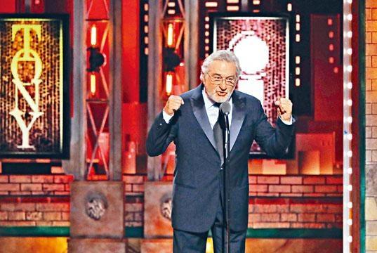 羅拔在東尼獎中大鬧特朗普後,特朗普反指他IQ低。
