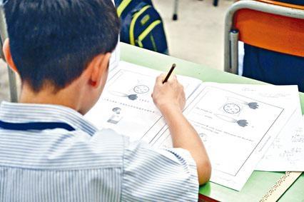 小三TSA英文和數學科開考,有學生指較校內試容易。