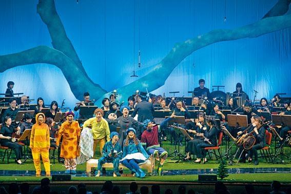 《幾米劇場音樂會──如果我可以許一個願望》結合中樂與幾米的繪本。
