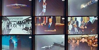 特朗普把此影片送給金正恩,稱相信兩人能創造新未來。