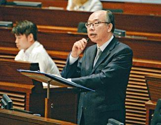 陳帆表示,高鐵的優勢及對港的貢獻是鐵一般事實。