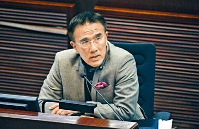 田北辰建議,政府就高鐵營運的利潤和虧損「封頂」。