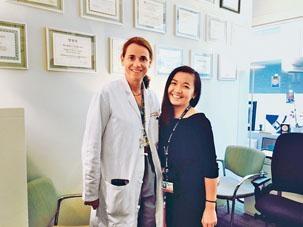 梁樂樺在哈佛大學隨著名的神經外科醫生Alexandra J. Golby做研究,她稱以對方為學習目標。