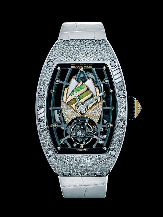 RM 71-01 Talisman剛於法國發表,陀飛輪機芯結合高級珠寶與複雜腕表設計。