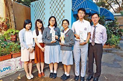 基督書院三位攝影隊成員,早前參加房協舉辦的「跨代融乜易」中學生微電影創作比賽,並獲得多個獎項。