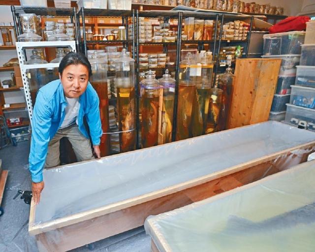 ■莊棣華正參與製作魚類物種紅色名錄 ,預計二○二○年完成初步工作。