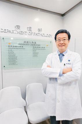 養和醫院臨牀病理科及分子病理科主任、血液學專科醫生馬紹鈞醫生。