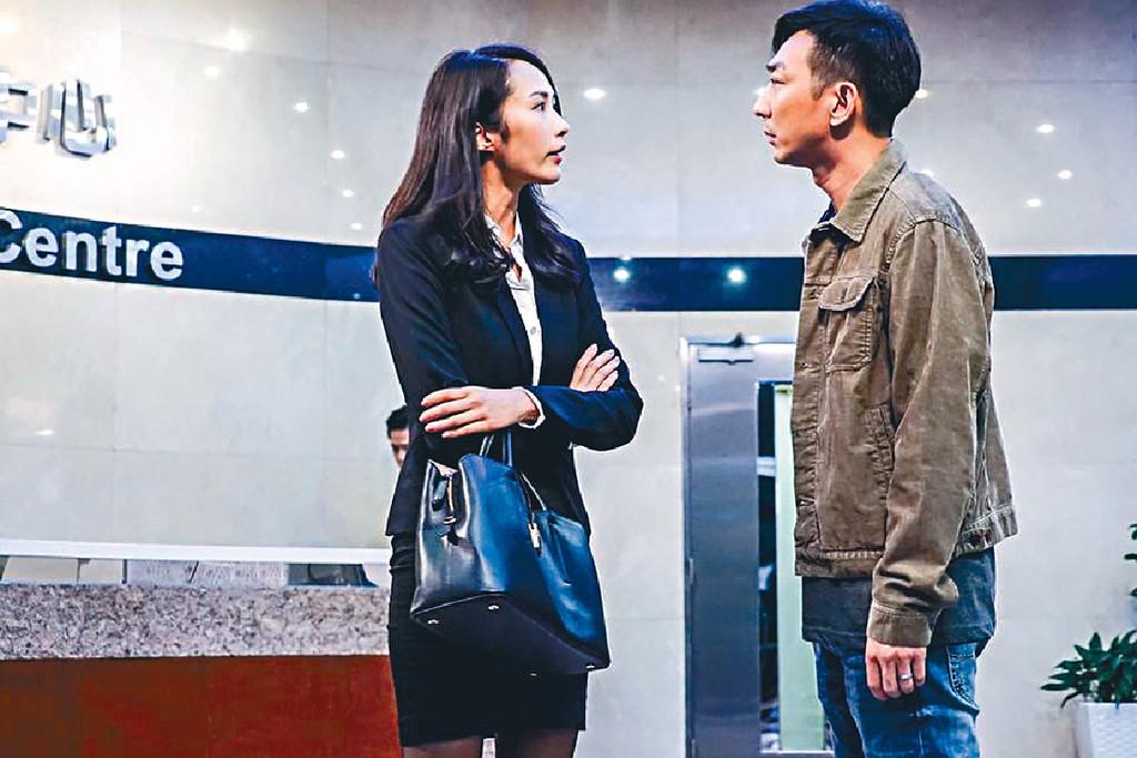 ■湯怡嚟緊會同舊拍檔李璨琛拍網劇《反黑2》,角色依然好有發揮。