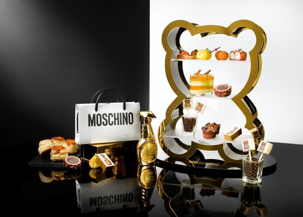 Moschino下午茶 $428/位、$688/兩位