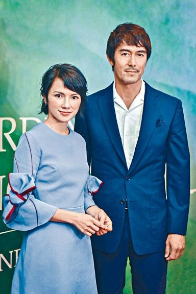 李心潔和阿部寬在新片《夕霧花園》中因園藝發展出感情。