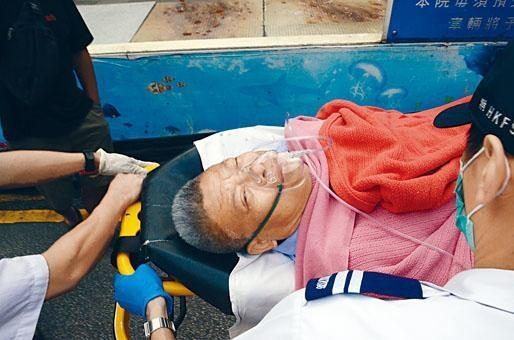 大金冷氣(香港)董事總經理葉鎮球,被刀手斬至重傷送院搶救。