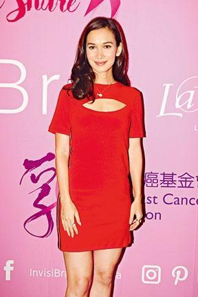 盧靖珊這次訪港只逗留兩天,之後便趕回北京工作。