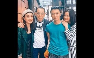 楊受成拉隊睇世盃決賽  祖兒High爆 霆鋒「亂入」搶鏡