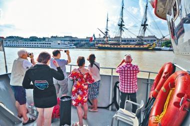 波爾多遊船沿河品酒