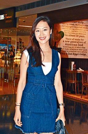 丁子田表示張堅庭早在八年前已鼓勵她選港姐。