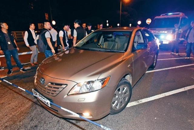 ■疑犯腿部中槍,駕車駛至元朗山下路棄車,他往博愛醫院求醫時被捕。