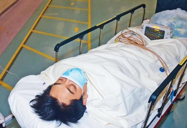 ■疑犯往醫院求醫時,被警方拘捕。