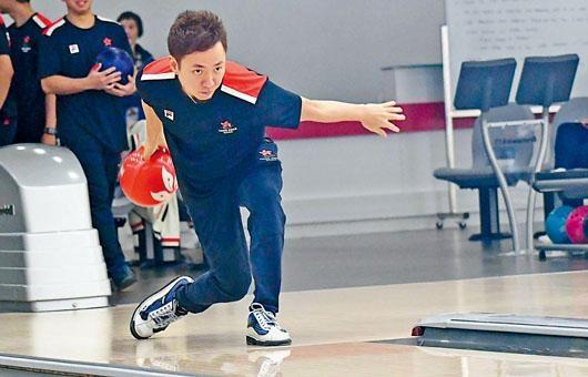 胡兆康表示身体正处健康水平,会好好享受今次亚运历程。