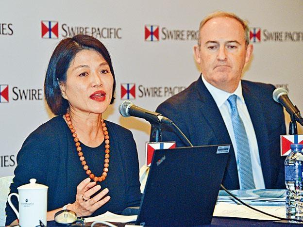劉美璇指出,過去兩年未有增加派息,希望將來股息可持續增長。