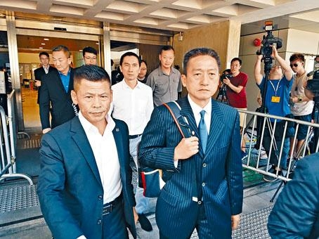 ■前警司朱經緯上訴案,押後至下月十四日頒判詞。