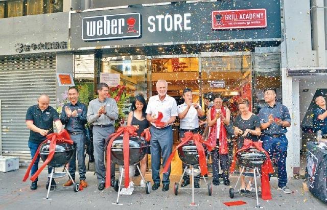 ■威焙上月初進駐九龍城,開設首間專門店。