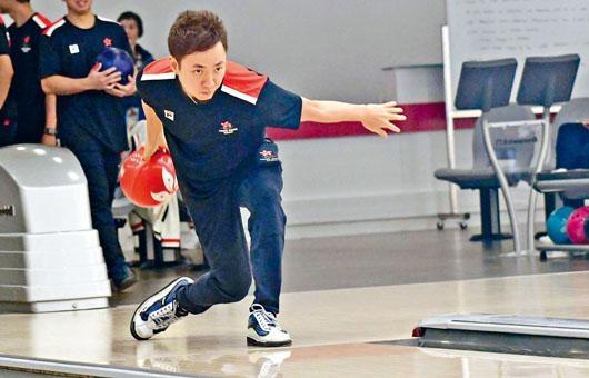 胡兆康以往在亚运个人和团体保龄球赛从未夺金,今次冲金也成为他最大目标。