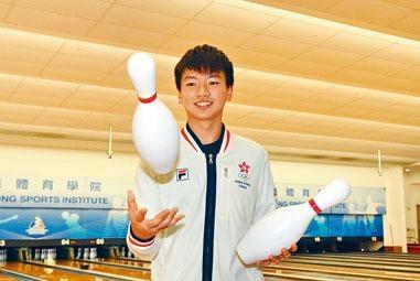 谢晋轩获誉为港队近年的新保龄神童。
