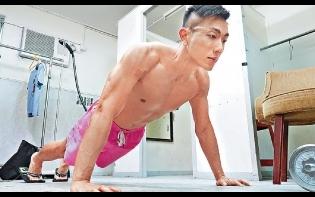 鼓勵朋友做運動  劉浩龍出寫真騷肌