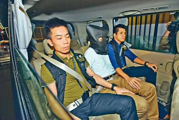 張褀忠涉嫌殺妻遭警拘捕。