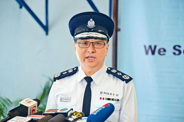 警務處處長盧偉聰獲延任一年至明年十一月,便利警隊管理層交接。