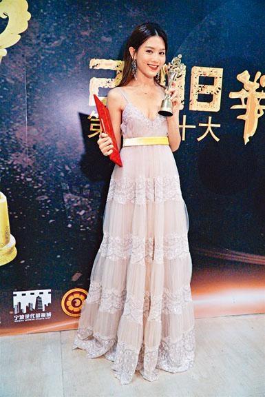周秀娜榮獲十大華語電影「年度女演員」殊榮。