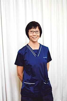 養和醫院物理治療師湯雅思。