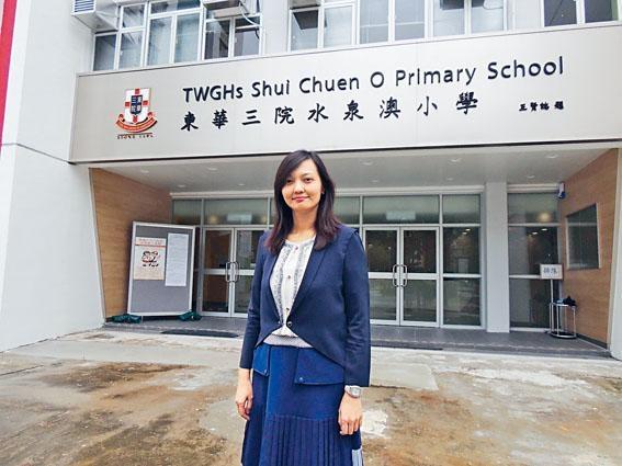 東華三院水泉澳小學首任校長梁敦瑜指,籌備新校九月開學,與新校舍規劃是同步進行,挑戰不輕。