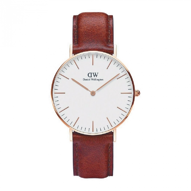 St Mawes Watch Leather Rose 36mm 原價$1,750 價惠價$1,050