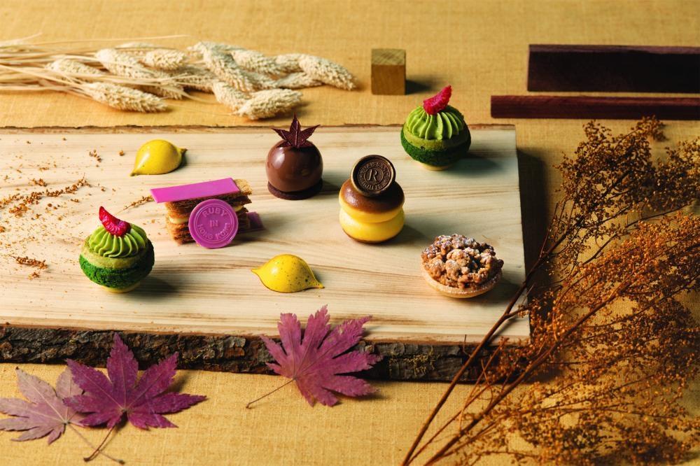 這次秋楓下午茶推出多款特色甜品。