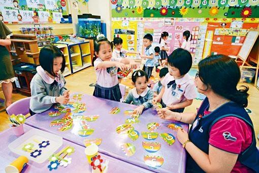 《幼稚園概覽》昨公布,今年起新增文具和全日制學生寢具兩項收費。