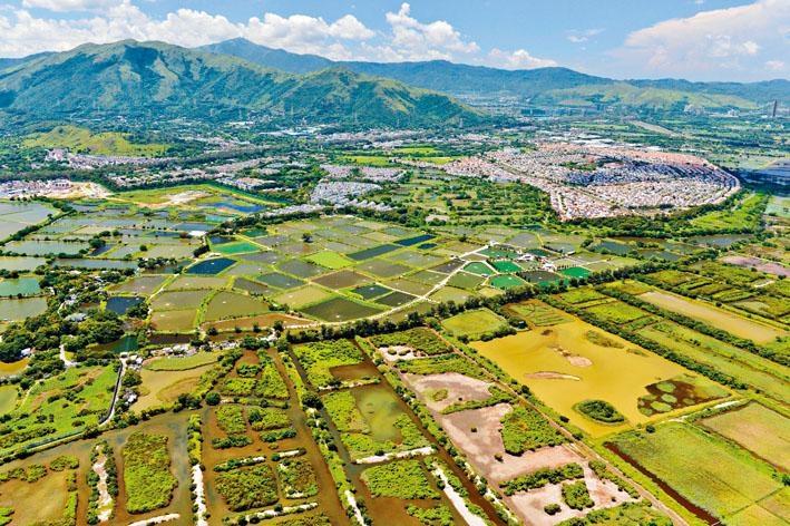 《施政報告》引入公私營合作模式發展農地,新增住宅樓面面積六至七成將會興建公營房屋。