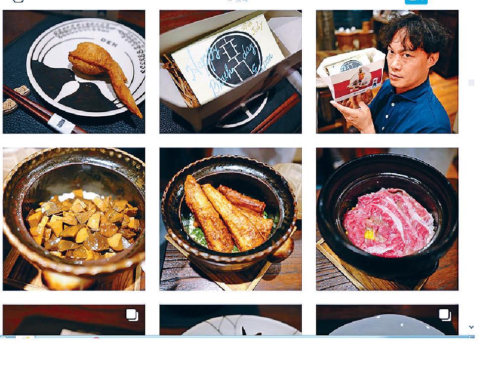 晒上癮 ■有「分享症」嘅阿徐,個人網誌成日po美食。