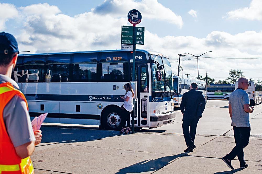 大都會捷運局希望透過新科技,提高巴士的運作效率。Holly Pickett/紐約時報