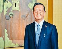 靖國神社宮司小堀邦夫。
