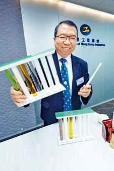 李家仁表示,一支塑膠飲管須要數百年才可分解。