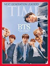 BTS在美國走紅,更登上權威雜誌《時代》成為封面人物。